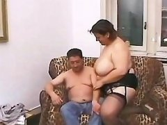 Filthy intense chubby sex