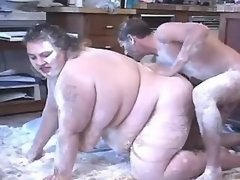 Appetizing titty fatty takes a ride